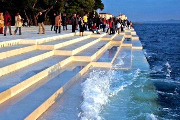 Meeresorgel,eine optische wie akustische Attraktion