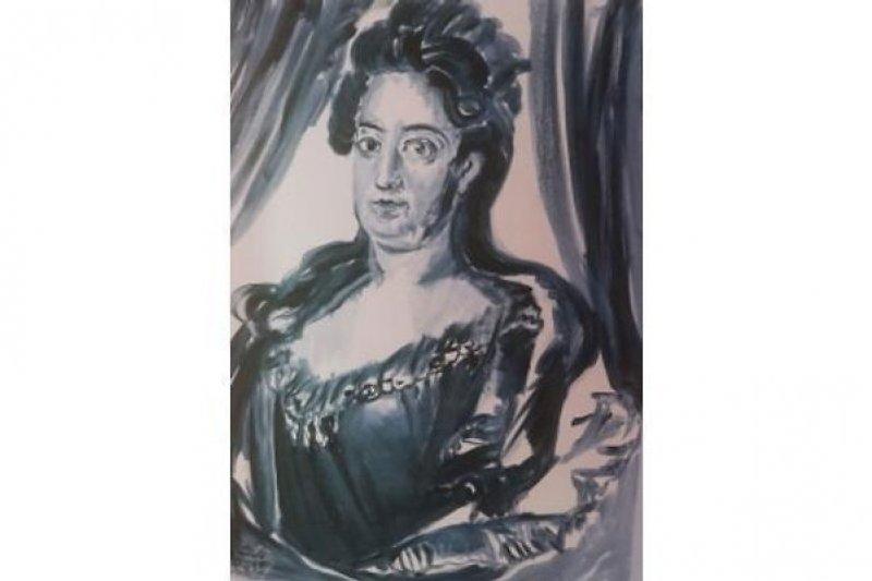 Portrait Prinzessin Junge Charlotte