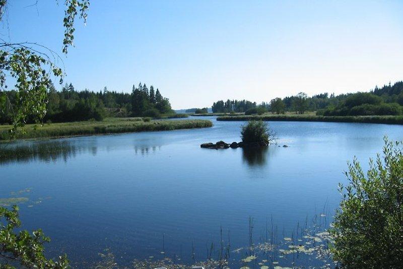 Der Ruskensee gilt als einer der besten Zandersee in Schweden.