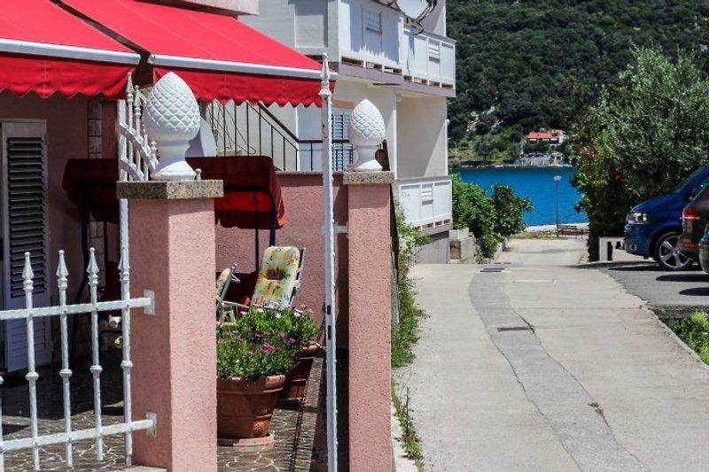 Entfernung vom Meer Villa Doris
