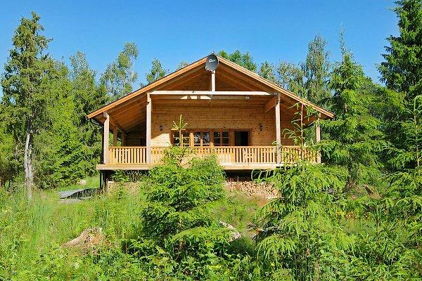 Blockhaus Fuchsbau in Südschweden am See Kiasjön