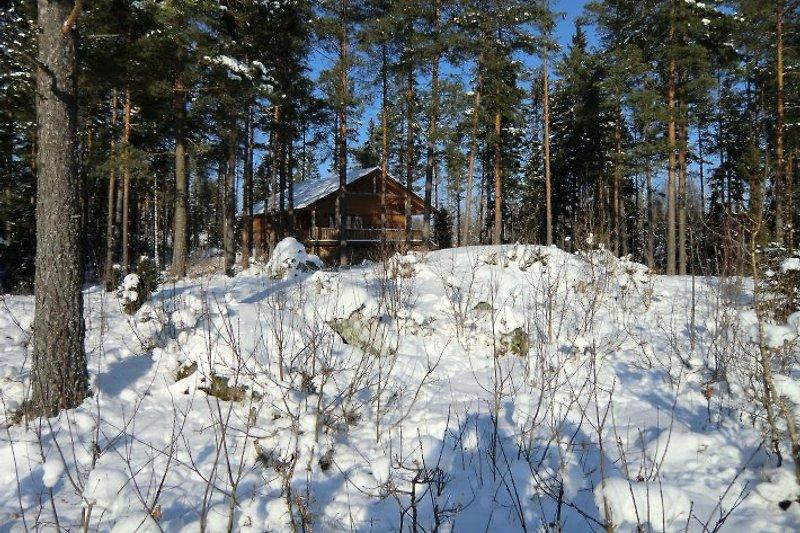 Dieses Haus wird auch im Winter vermietet