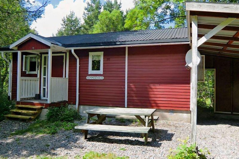 Das Sommerhaus, ein kleines Haus für die kleine Familie