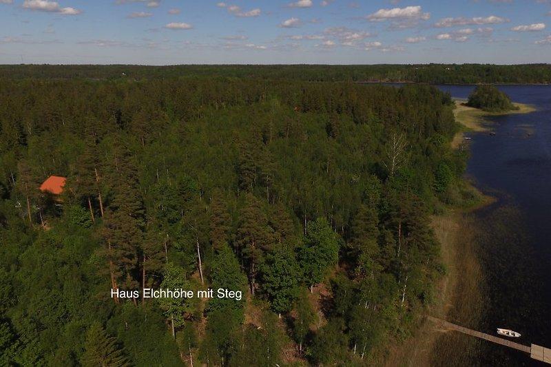 Tolle Lage am See Kiasjön