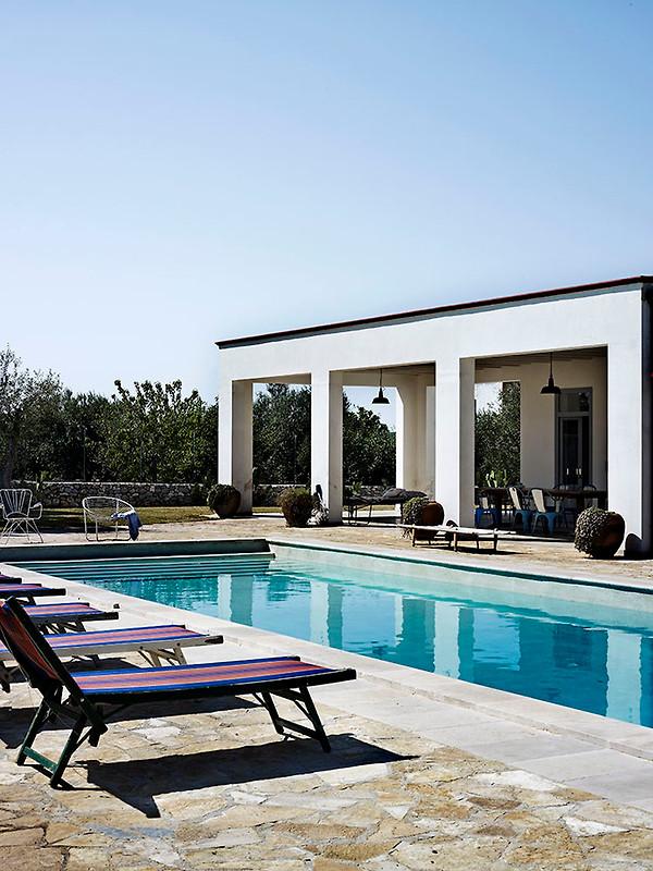 Villa barbara maison de vacances monopoli louer for Prix piscine waterair barbara