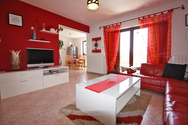 Wohnzimmer mit Wlan und Sat - tv