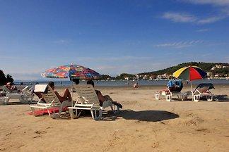 Mel vacaciones playa de arena