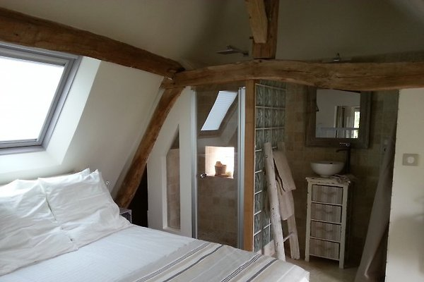 First bedroom view on Loire river