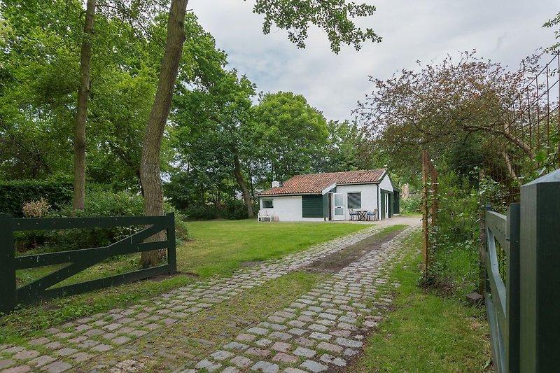 Am Rande der prächtigen Naturschutzgebiete liegt das neulich renovierte Ferienhaus