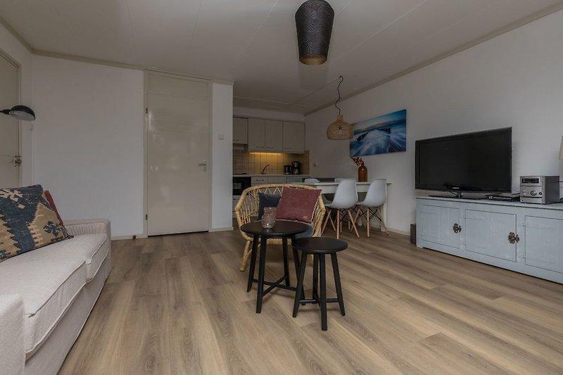 Das Wohnzimmer mit Digital TV mit vielen deutschen Sendern
