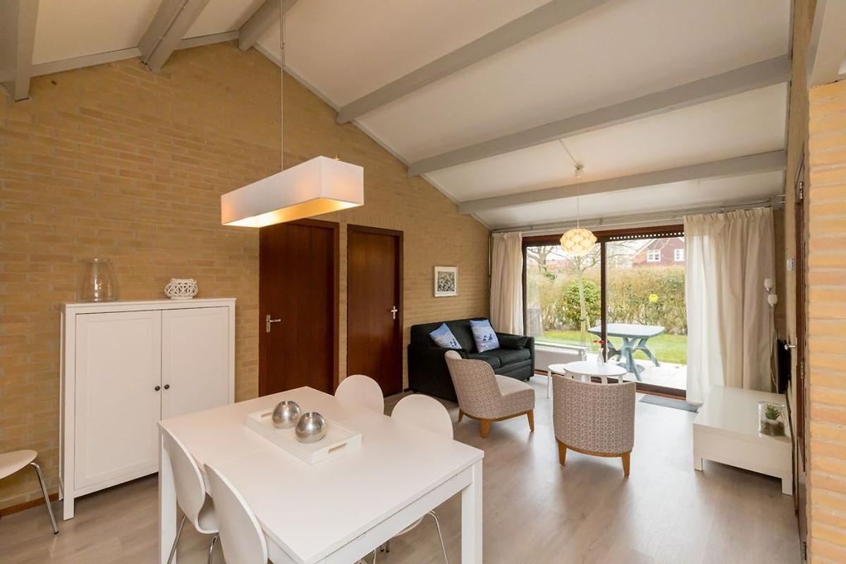 De merel ferienwohnung in westenschouwen mieten - Eingerichtete wohnzimmer ...