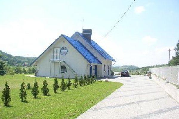 Ferienhaus mit Gartenpool f.8 Pers. in Cisownica - Bild 1