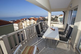 Villa Alma in Makarska Apartment 1