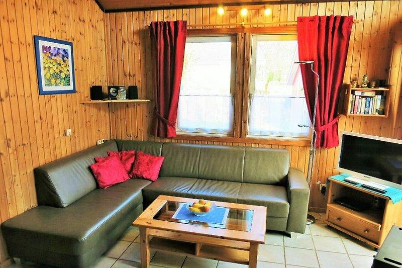 Wohnbereich Ferienhaus Lea