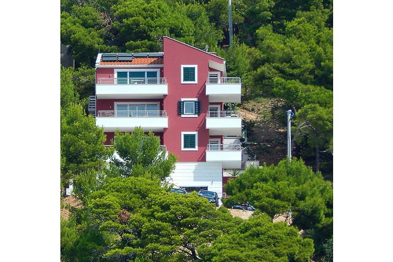 Villa DIVINA Front-Ansicht