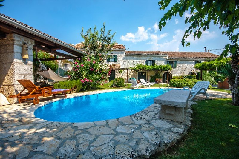Villa Captain Morgan with swimming pool
