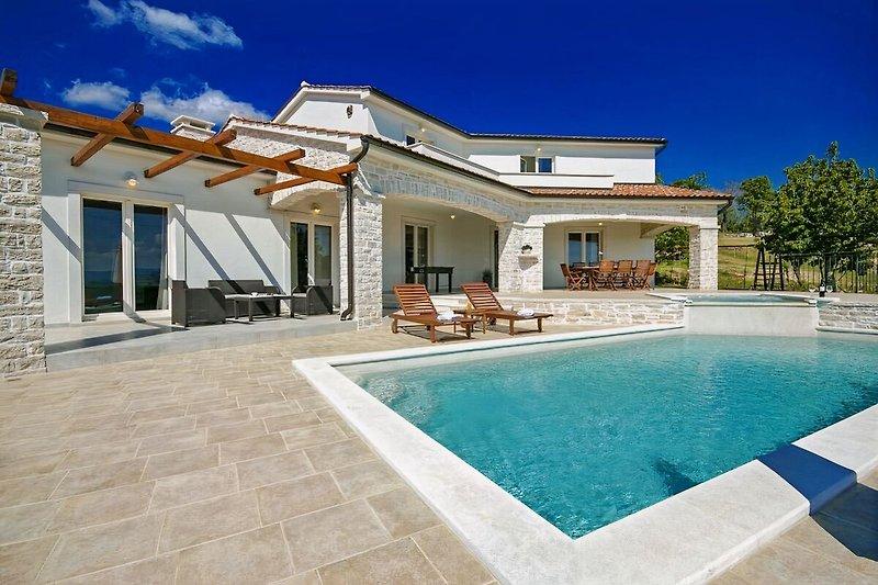 Villa Melli with swimming pool
