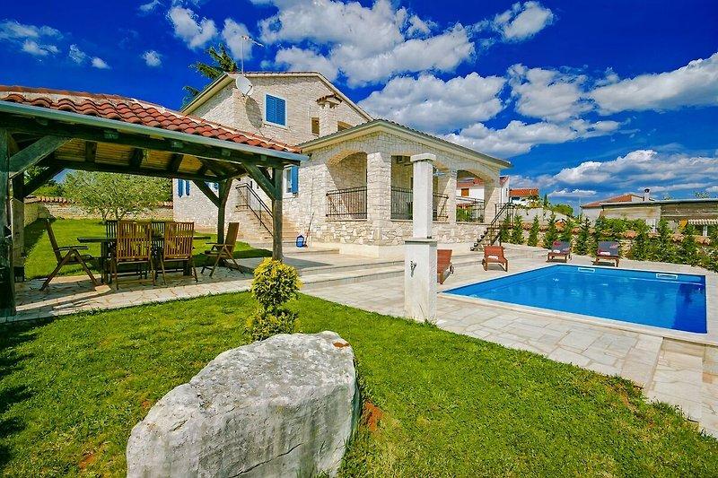 Außenansicht der Villa Gordana
