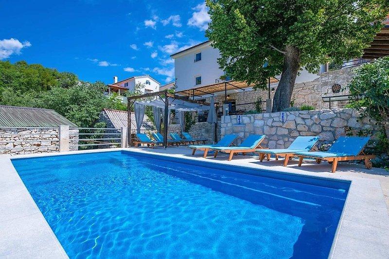 Villa Eugenia with swimming pool