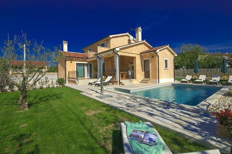 Aussenansicht an Villa Rotonda