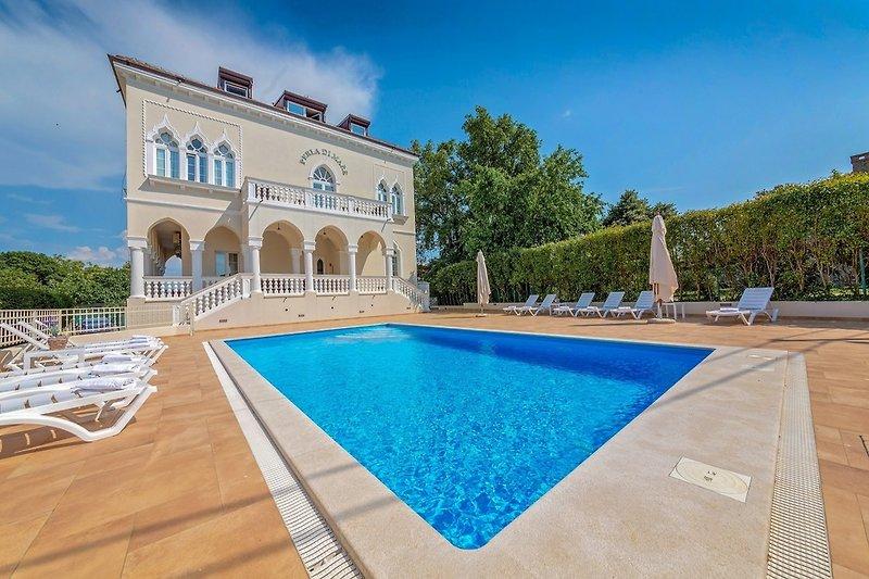Außenansicht an Ferienwohnung Perla di Mare 6