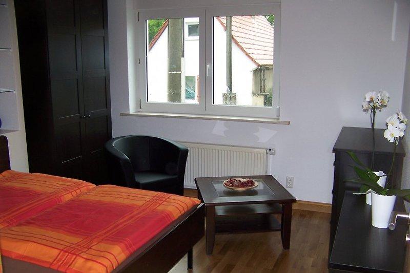 Zimmer 1 optional als Einzelbettzimmer