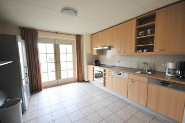 Küche im Gruppenhaus Buitenhof Domburg