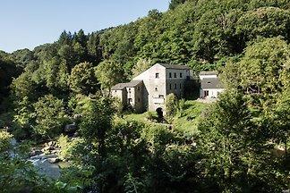 Ferienhaus für 1-4P. in alter Wassermühle, ideal Angelurlaub, Erholung, Natur, Radfahren, Wandern - für Naturliebhaber