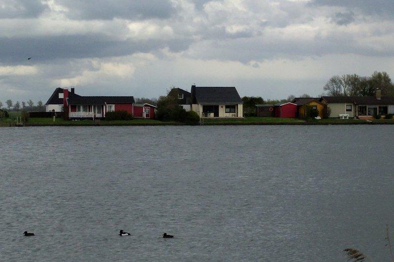 Blick zu Ferienhaus Eul A 9