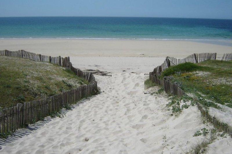 Strand um die Ecke