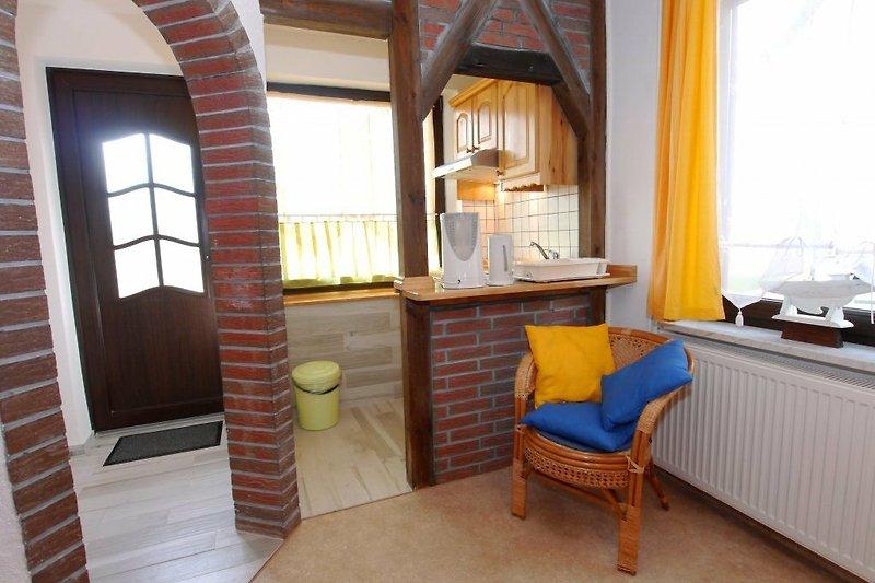 Eingangsbereich und Kochnische
