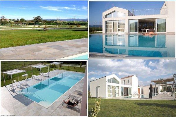 Villa Cà del Magra mit Pool  in Ameglia - Bild 1