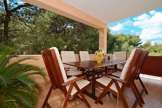 Appartamento Amalija; Terrazza e giardino