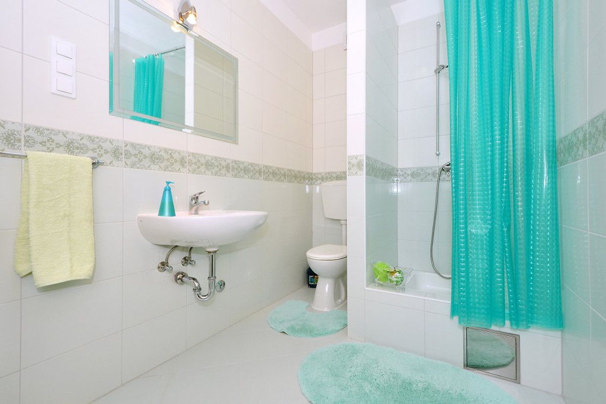Igor 2 ger umig und modern ferienwohnung in mastrinka for Badezimmer 8m2
