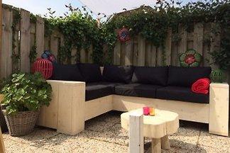 Maison de vacances avec terrasse ensoleillée