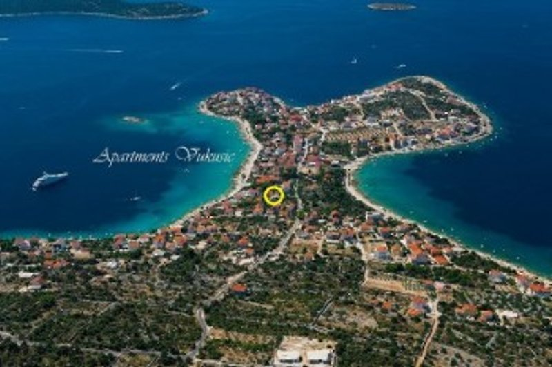 Ferienwohnungen in Sevid - Trogir Riviera