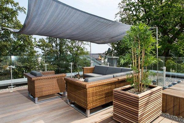 Villa mathilde penthouse 27 spa ferienwohnung in binz mieten - Whirlpool dachterrasse ...