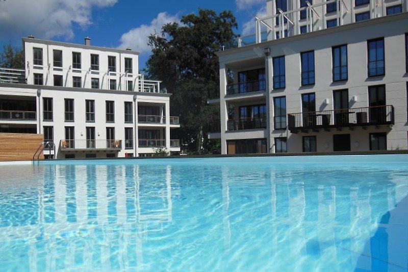 Villa Amalie mit beheizten Außenpool (75qm)