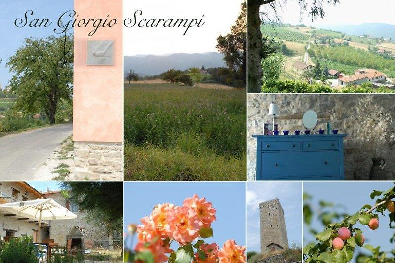 San Giorgio Scarampi nähere Umgebung