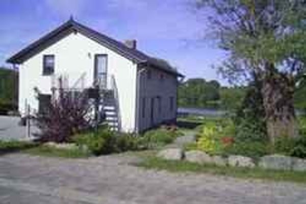 Ferienwohnung in Hohensee am Achterwasser Hausansicht