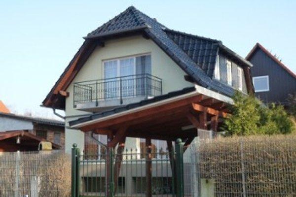Ferienhaus am Fleesensee in Untergöhren Hausansicht
