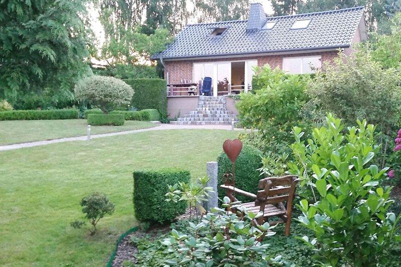 Ferienhaus Wanzka Wanzkaer See - Hausansicht