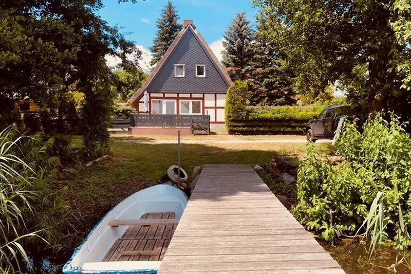 Ferienhaus Blankensee Wanzkaer See Hausansicht
