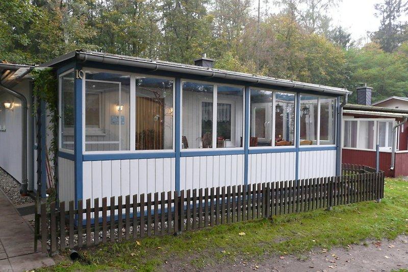 Ferienhaus in Malchow am Fleesensee Hausansicht