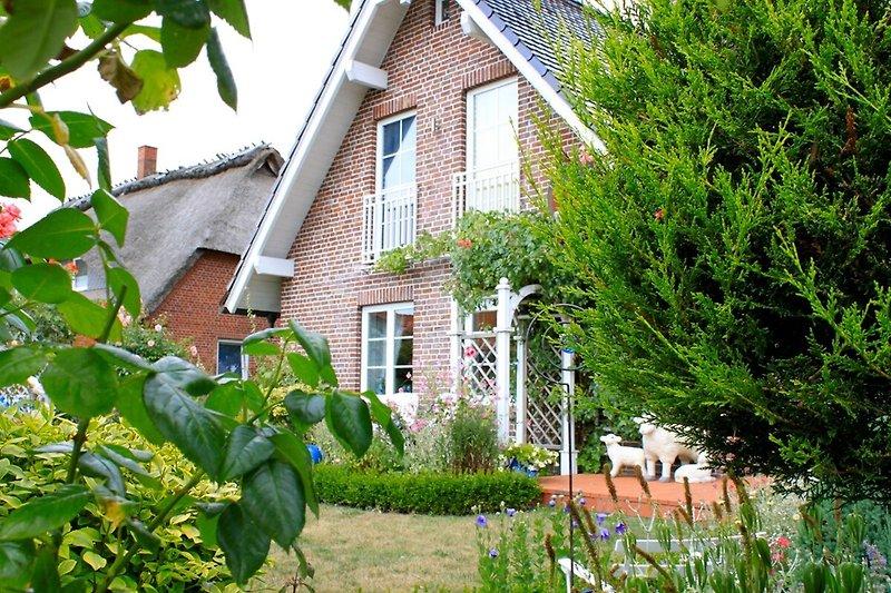 Dieses Ferienhaus mit wunderschönem Garten liegt in dem Ort Kronsgaard