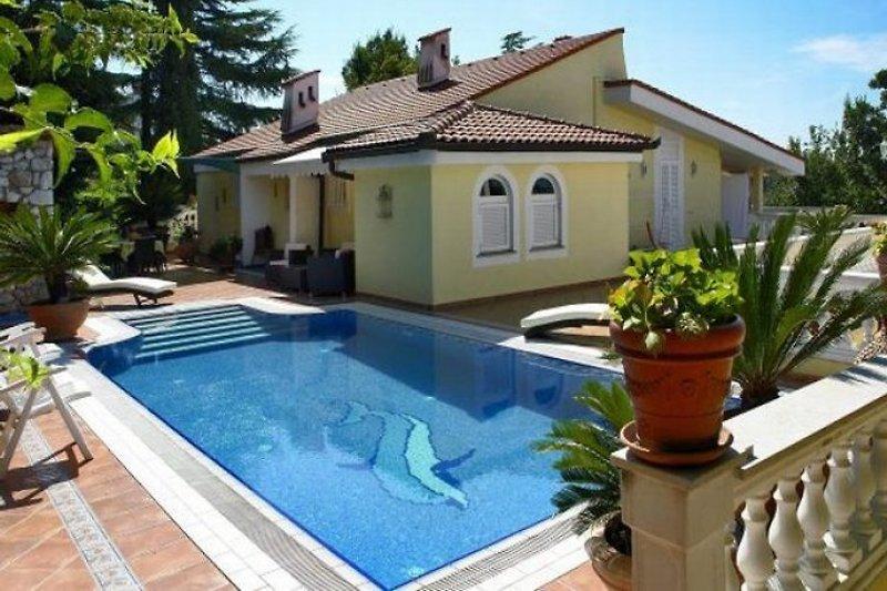 Villa Lijane mit Pool