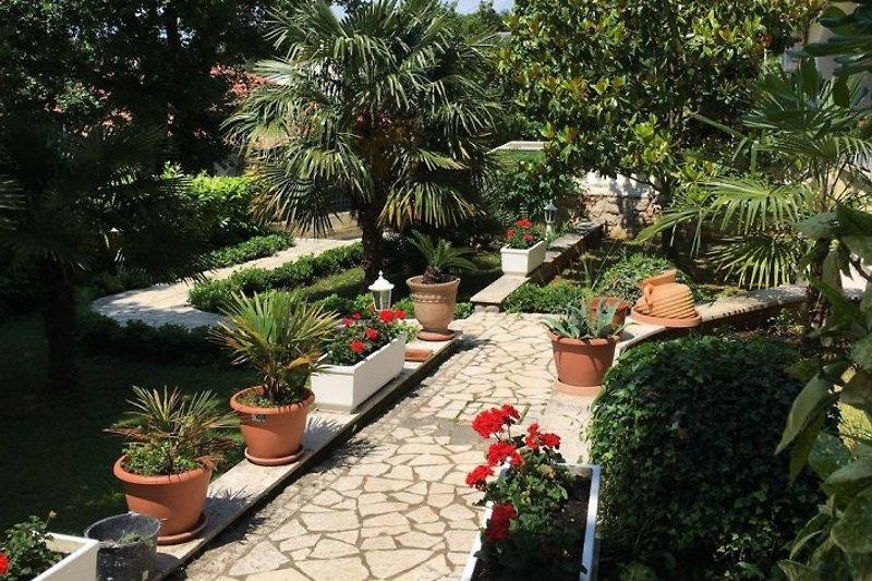 Der Garten Villa Lijane