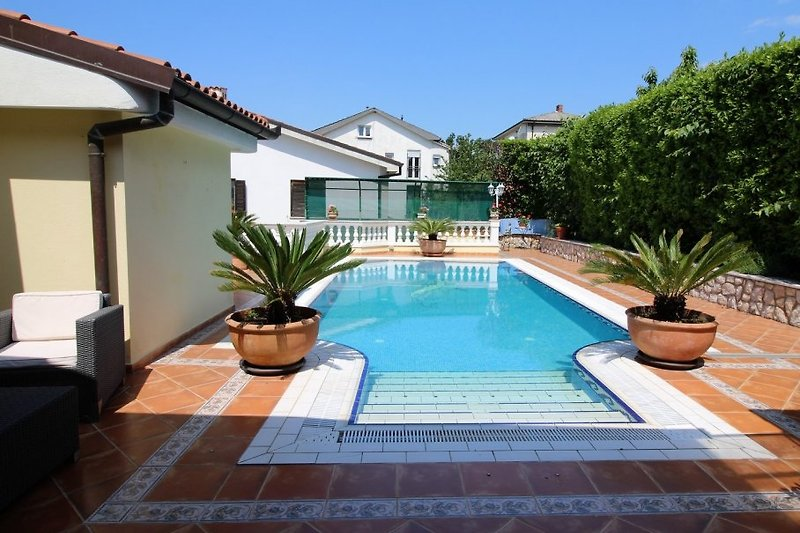 Pool Villa Lijane in Kostrena