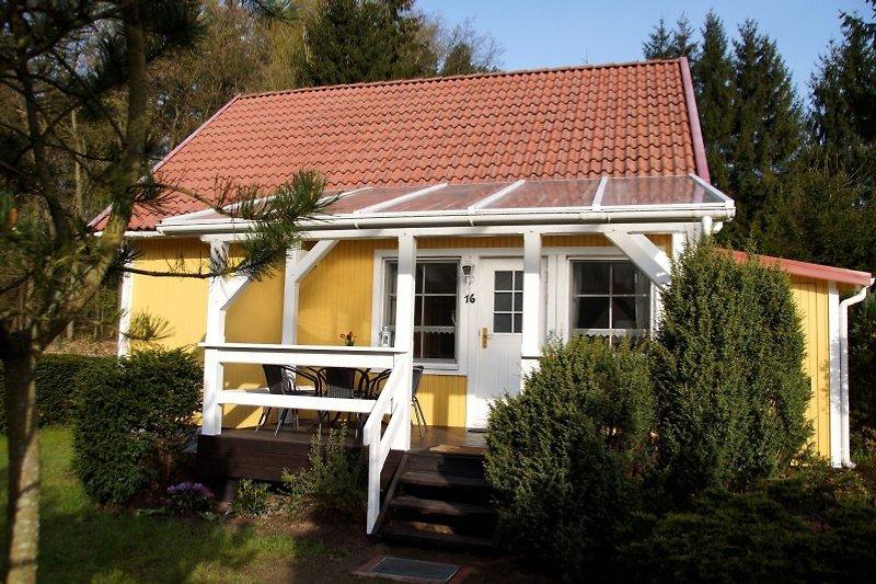 Haus Seewald mit überdachter Terrasse