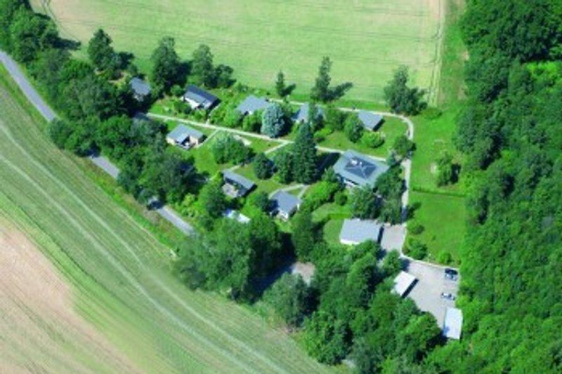 Luftaufnahme von Feriendorf